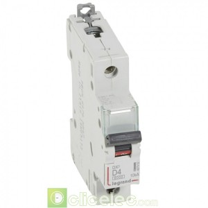 DX3 1P D4 6000A/10KA 407952 Legrand Disjoncteurs PH+N