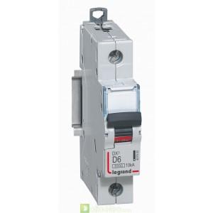 DX3 1P D6 6000A/10KA 407953 Legrand Disjoncteurs PH+N