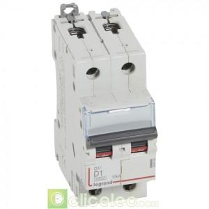 DX3 2P D1 6000A/10KA 408008 Legrand Disjoncteurs PH+N
