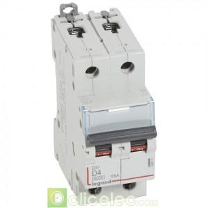 DX3 2P D4 6000A/10KA 408011 Legrand Disjoncteurs PH+N