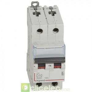 DX3 2P D10 6000A/10KA 408014 Legrand Disjoncteurs PH+N