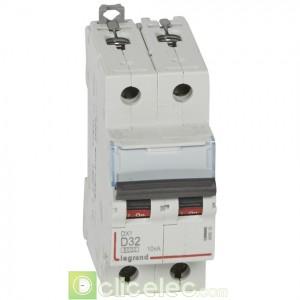 DX3 2P D32 6000A/10KA 408018 Legrand Disjoncteurs PH+N