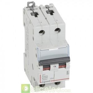 DX3 2P D50 6000A/10KA 408020 Legrand Disjoncteurs PH+N