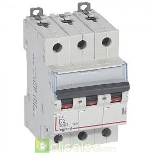 DX3 3P D2 6000A/10KA 408054 Legrand Disjoncteurs PH+N