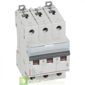 DX3 3P D3 6000A/10KA 408055 Legrand Disjoncteurs PH+N