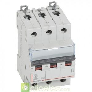 DX3 3P D6 6000A/10KA 408057 Legrand Disjoncteurs PH+N
