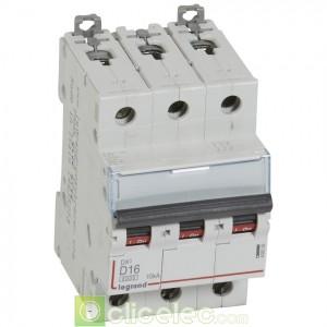 DX3 3P D16 6000A/10KA 408059 Legrand Disjoncteurs PH+N