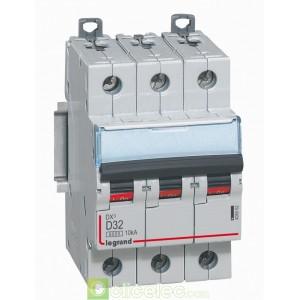 DX3 3P D32 6000A/10KA 408062 Legrand Disjoncteurs PH+N