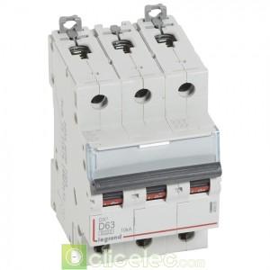 DX3 3P D63 6000A/10KA 408065 Legrand Disjoncteurs PH+N