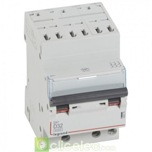 DX3 3P D32 6000A/10KA AUTO 408078 Legrand Disjoncteurs PH+N