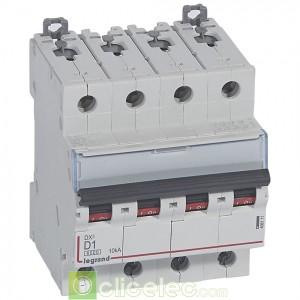 DX3 4P D1 6000A/10KA 408111 Legrand Disjoncteurs PH+N