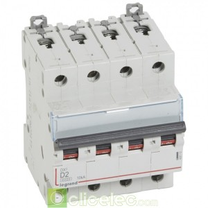 DX3 4P D2 6000A/10KA 408112 Legrand Disjoncteurs PH+N