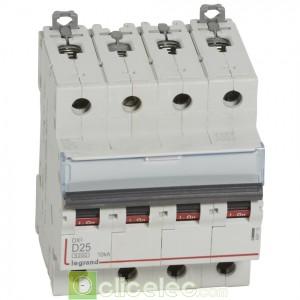 DX3 4P D25 6000A/10KA 408119 Legrand Disjoncteurs PH+N