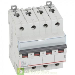 DX3 4P D50 6000A/10KA 408122 Legrand Disjoncteurs PH+N