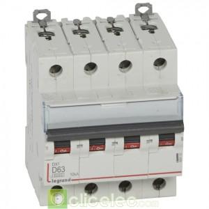 DX3 4P D63 6000A/10KA 408123 Legrand Disjoncteurs PH+N