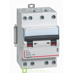DX3 4P D16 6000A/10KA 3M 408126 Legrand Disjoncteurs PH+N