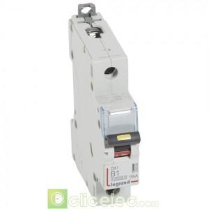 DX3 1P B1 10000A/16KA 408880 Legrand Disjoncteurs PH+N
