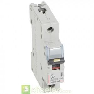 DX3 1P B2 10000A/16KA 408881 Legrand Disjoncteurs PH+N