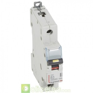 DX3 1P B3 10000A/16KA 408882 Legrand Disjoncteurs PH+N