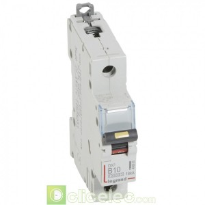 DX3 1P B10 10000A/16KA 408885 Legrand Disjoncteurs PH+N