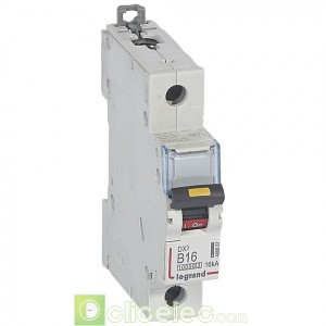 DX3 1P B16 10000A/16KA 408887 Legrand Disjoncteurs PH+N