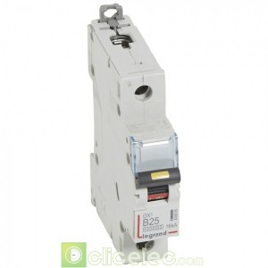 DX3 1P B25 10000A/16KA 408889 Legrand Disjoncteurs PH+N