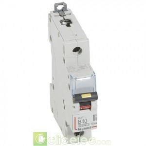 DX3 1P B40 10000A/16KA 408891 Legrand Disjoncteurs PH+N