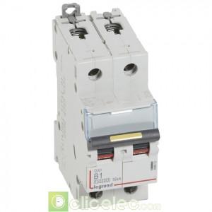 DX3 2P B1 10000A/16KA 408952 Legrand Disjoncteurs PH+N