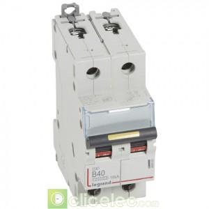 DX3 2P B40 10000A/16KA 408963 Legrand Disjoncteurs PH+N