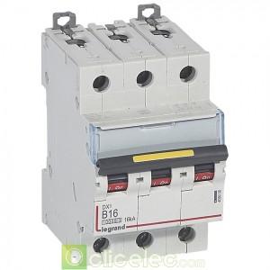 DX3 3P B16 10000A/16KA 409008 Legrand Disjoncteurs PH+N