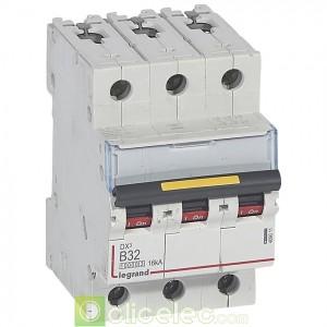 DX3 3P B32 10000A/16KA 409011 Legrand Disjoncteurs PH+N