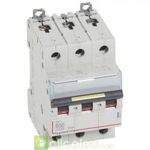 DX3 3P B50 10000A/16KA 409013 Legrand Disjoncteurs PH+N
