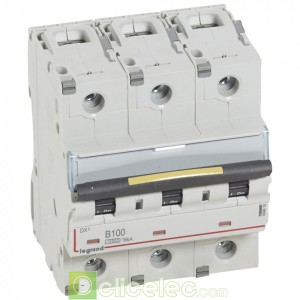 DX3 3P B100 10000A/16KA 409016 Legrand Disjoncteurs PH+N