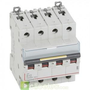 DX3 4P B10 10000A/16KA 409080 Legrand Disjoncteurs PH+N