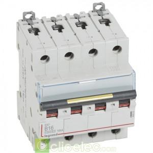DX3 4P B16 10000A/16KA 409082 Legrand Disjoncteurs PH+N