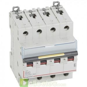 DX3 4P B40 10000A/16KA 409086 Legrand Disjoncteurs PH+N
