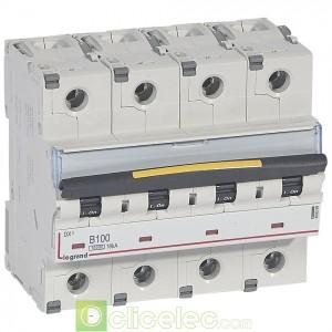 DX3 4P B100 10000A/16KA 409090 Legrand Disjoncteurs PH+N