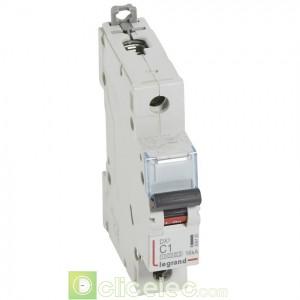 DX3 1P C1 10000A/16KA 409125 Legrand Disjoncteurs PH+N