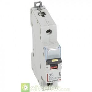 DX3 1P C3 10000A/16KA 409127 Legrand Disjoncteurs PH+N