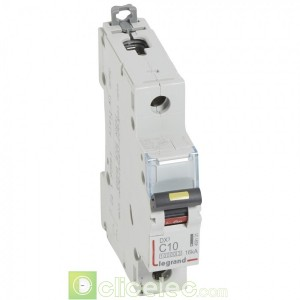 DX3 1P C10 10000A/16KA 409131 Legrand Disjoncteurs PH+N