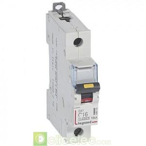 DX3 1P C16 10000A/16KA 409133 Legrand Disjoncteurs PH+N
