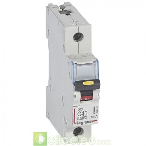 DX3 1P C40 10000A/16KA 409137 Legrand Disjoncteurs PH+N