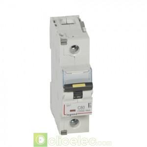 DX3 1P C80 10000A/16KA 409140 Legrand Disjoncteurs PH+N