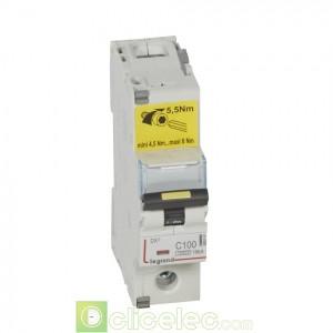 DX3 1P C100 10000A/16KA 409141 Legrand Disjoncteurs PH+N
