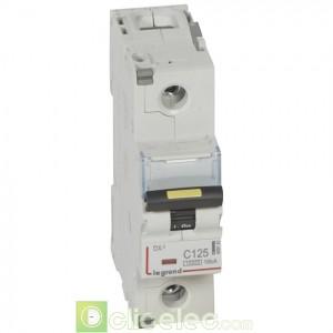 DX3 1P C125 10000A/16KA 409142 Legrand Disjoncteurs PH+N