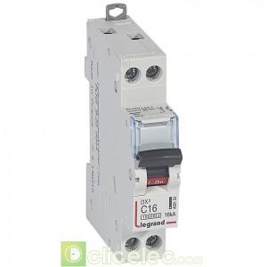 DX3 1P+NG C16 10000A/16KA 1M 409152 Legrand Disjoncteurs PH+N