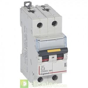 DX3 2P C3 10000A/16KA 409215 Legrand Disjoncteurs PH+N