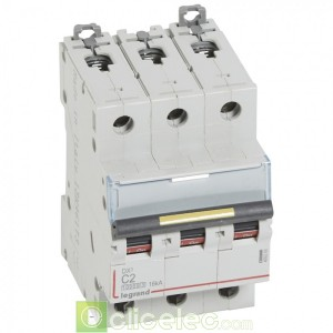DX3 3P C2 10000A/16KA 409266 Legrand Disjoncteurs PH+N