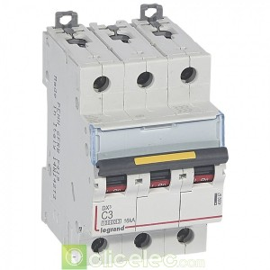 DX3 3P C3 10000A/16KA 409267 Legrand Disjoncteurs PH+N