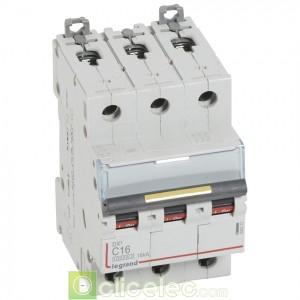 DX3 3P C16 10000A/16KA 409273 Legrand Disjoncteurs PH+N
